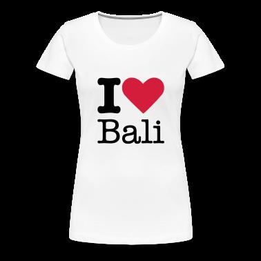 I Love Bali T-Shirts