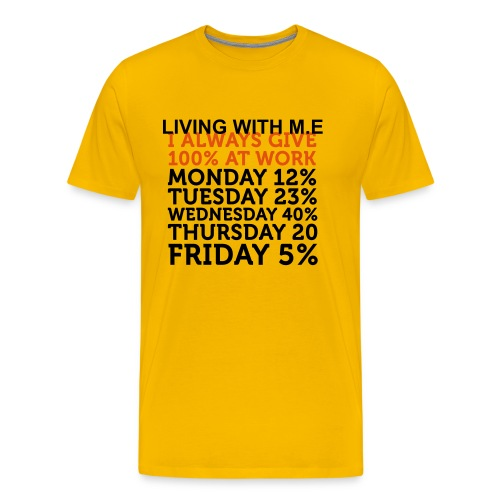 Living with M.E - Men's Premium T-Shirt