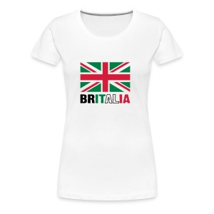 Britalia - British love of Italian exotica - Women's Premium T-Shirt