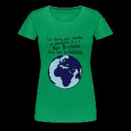 Tee shirts ~ T-shirt Premium Femme ~ Tshirt breton dans tous les coins du monde