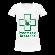 Tee shirts ~ T-shirt Premium Femme ~ Tshirt homme c2b phamacie bretonne Femme