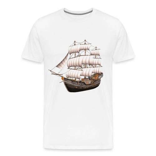 Old Sailboat - Männer Premium T-Shirt