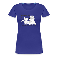 Camisetas ~ Camiseta premium mujer ~ mod. logo blanco mujer m/c