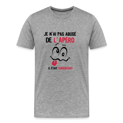 tee shirt abuse alcool humour apero consentant smiley1 tee. Black Bedroom Furniture Sets. Home Design Ideas
