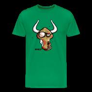 T-Shirts ~ Männer Premium T-Shirt ~ Zombie Oxe