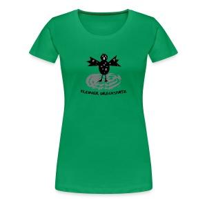 tier t-shirt kinder baby schmutzfink fink spatz dreckspatz schmutzig dreckig schmutz dreck - Frauen Premium T-Shirt