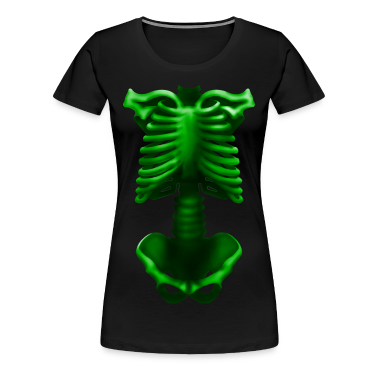 skeleton poisonous green T-Shirts