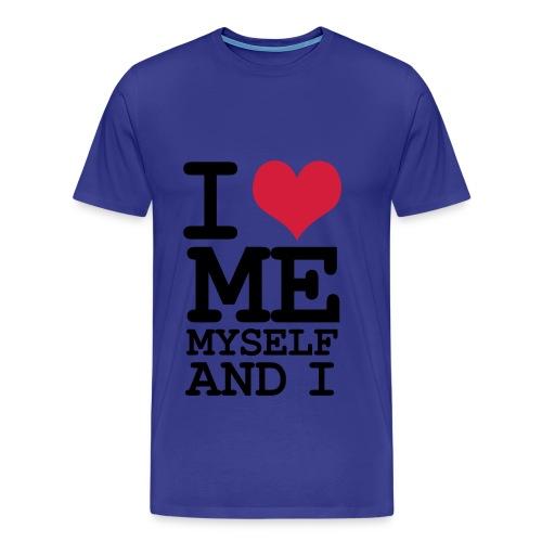 Love me  - Maglietta Premium da uomo