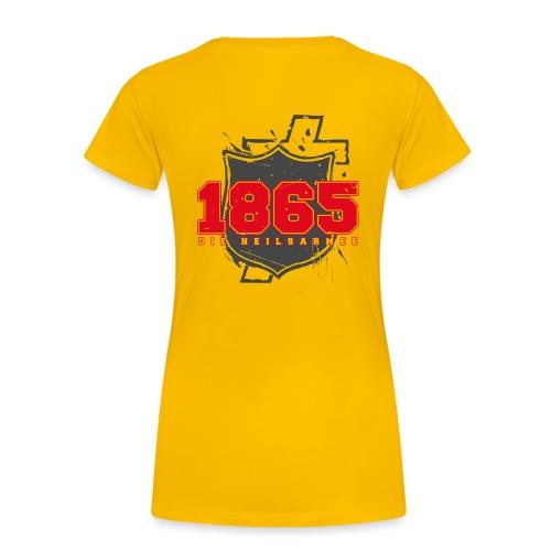 1865 (rot/grau) - Frauen Premium T-Shirt