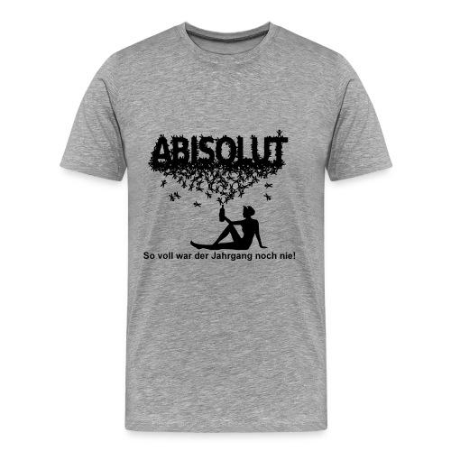 Abishirt_green - Men's Premium T-Shirt
