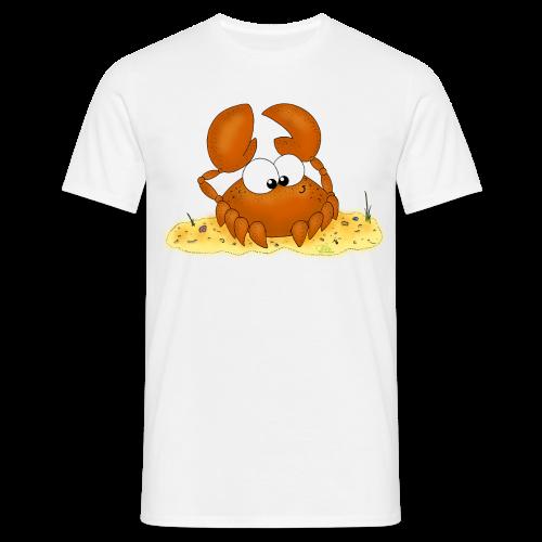 Strandkrabbe - Männer T-Shirt