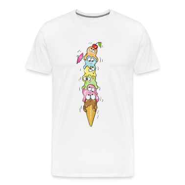 Ice cream by the scoop, one of each kind! T-Shirts