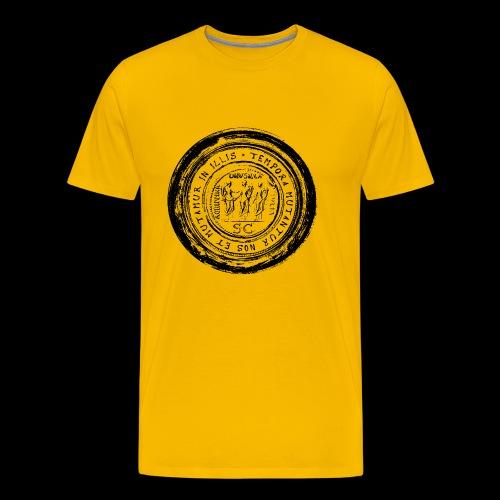 Tempora mutantur nos et mutamur in illis (1c black) - Männer Premium T-Shirt