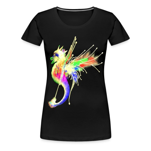 Colorful Dragon - Frauen Premium T-Shirt
