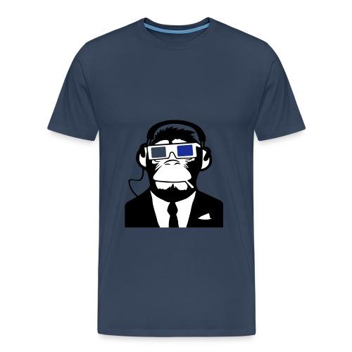 Monkey DJ - Men's Premium T-Shirt