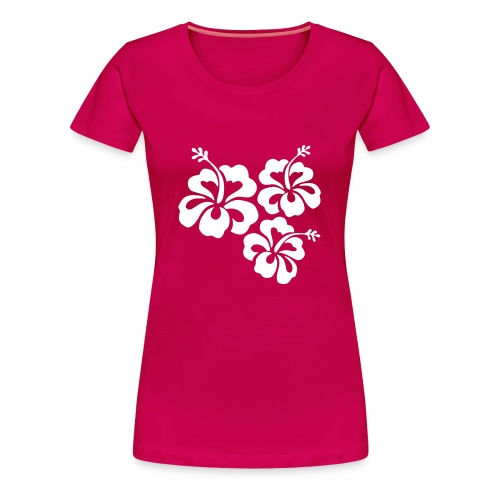 Fleur ( Fille ) - T-shirt Premium Femme