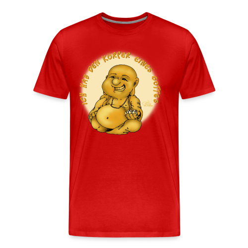 Göttlicher Körper (extragroß) - Männer Premium T-Shirt