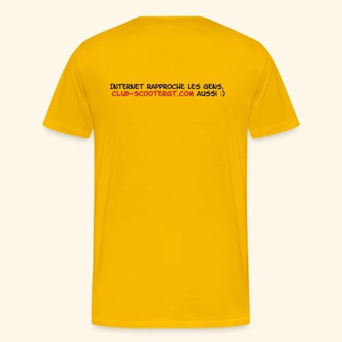 RASSO 2012 BASIC HOMME écriture noire - T-shirt Premium Homme