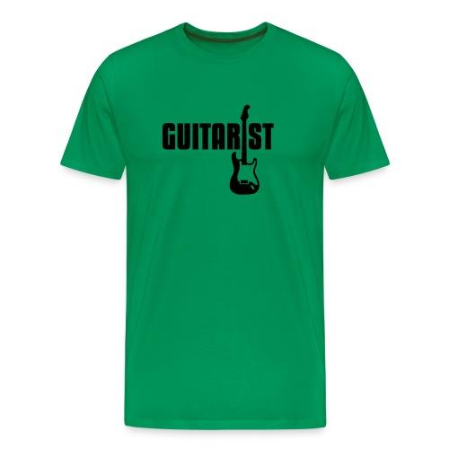 Guitarist - Männer Premium T-Shirt