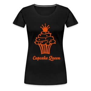 Cupcake Queen Orange - Vrouwen Premium T-shirt