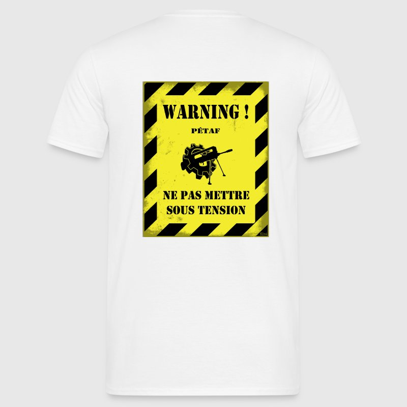 Warning Petaf - T-shirt Homme