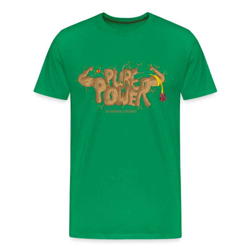 Pure Power - Männer Premium T-Shirt