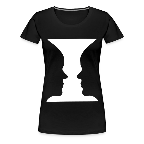 Gesichter Shirt - Frauen Premium T-Shirt