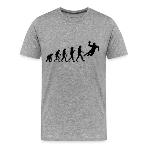 L'évolution vers le Handball - T-shirt Premium Homme