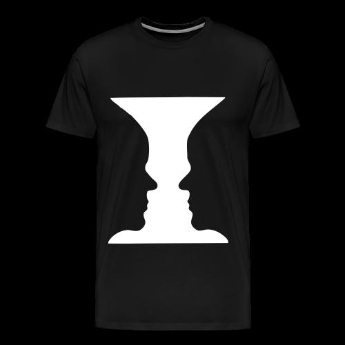 Gesichter Shirt - Männer Premium T-Shirt