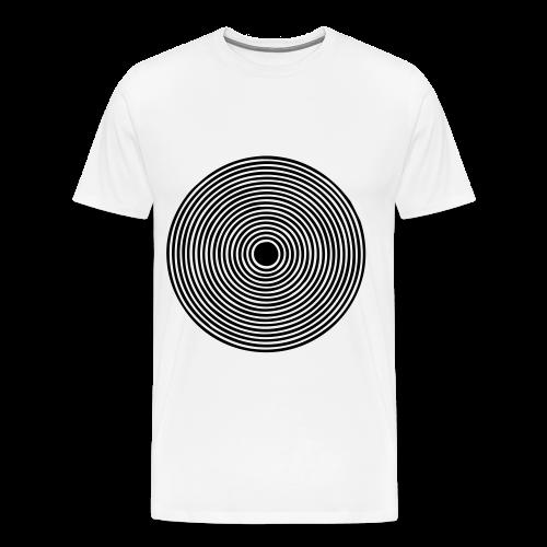 Wer steht im Mittelpunkt? - Männer Premium T-Shirt