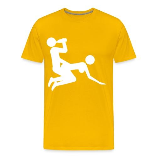 Drunk DoggyStyle - Herre premium T-shirt