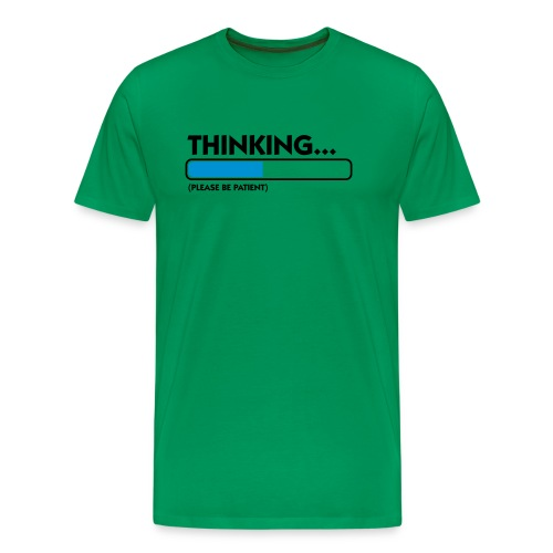 Thinking - Mannen Premium T-shirt