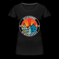 T-Shirts ~ Frauen Premium T-Shirt ~ Schlossfest Shirt weiss