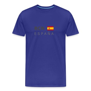 Classic T-Shirt BCN ESPAÑA dark-lettered - Men's Premium T-Shirt