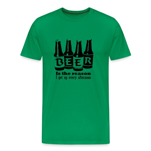 La raison de me lever! - T-shirt Premium Homme