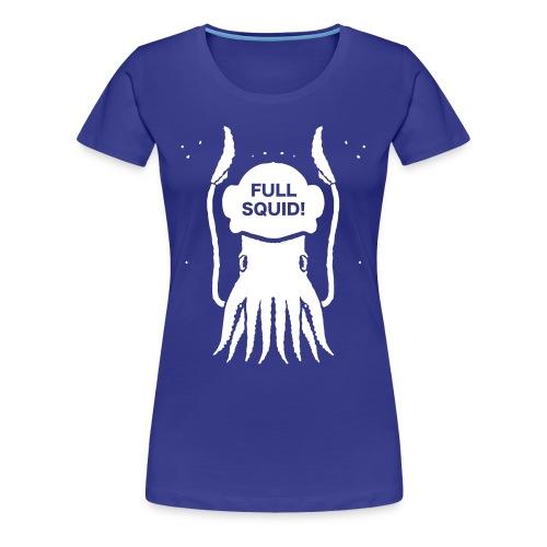FULLSQUID! HELM LADIES WHITE - Women's Premium T-Shirt