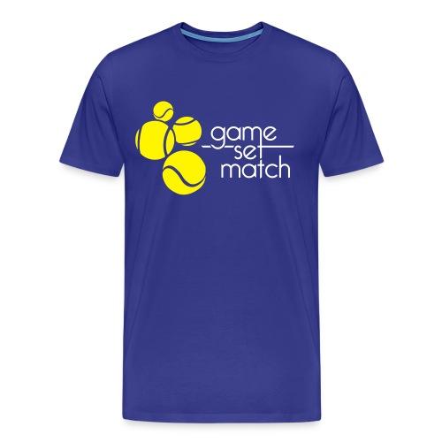 Tennisshirt Heren - Mannen Premium T-shirt