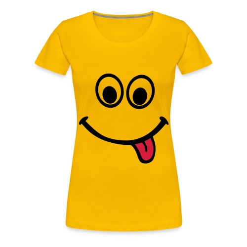 Smiley Face T-Shirt - Women's Premium T-Shirt