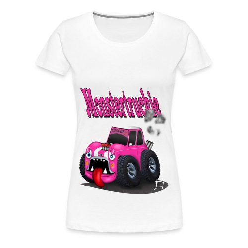 Monstertruckie Mini - Vrouwen Premium T-shirt