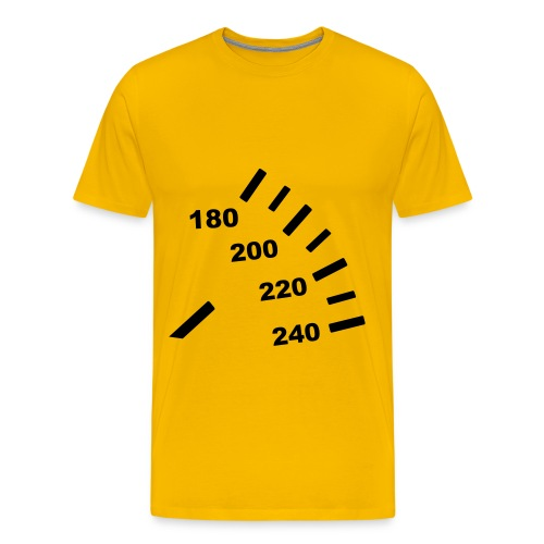 Mannen t-shirt - Speed - Mannen Premium T-shirt