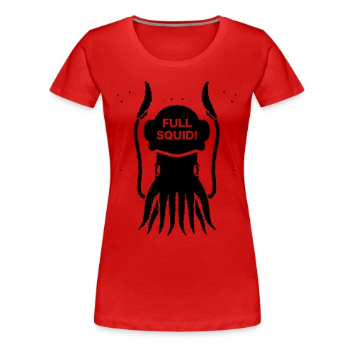 FULLSQUID! HELM LADIES BLACK - Women's Premium T-Shirt