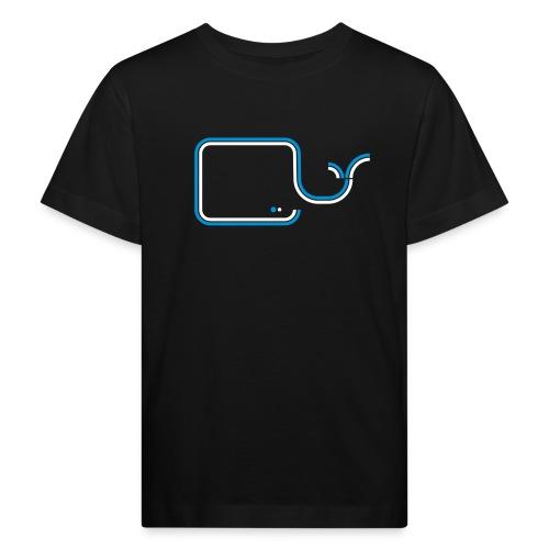 Streifentiere - Wal - Kinder Bio-T-Shirt