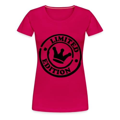 Women's Premium T-Shirt - T shirt Pink Limited Addition