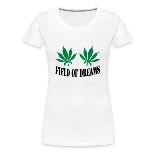 Field of dreams women's t shirt - Women's Premium T-Shirt