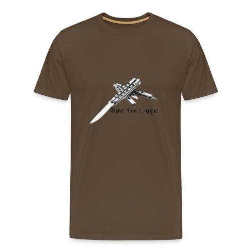 Let's Fight - Maglietta Premium da uomo