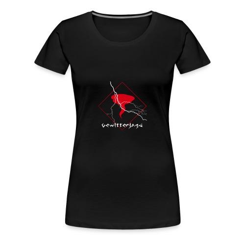 Gewitterjagd - Girlie Shirt - Frauen Premium T-Shirt
