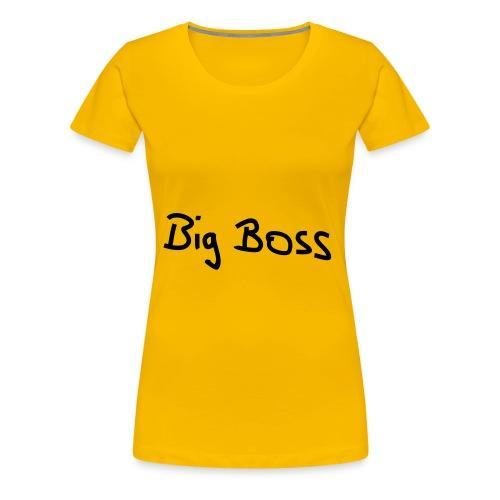 Big Boss - Premium T-skjorte for kvinner