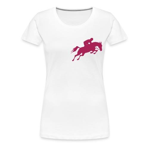 tee shirt femme turfiste modèle 1 - T-shirt Premium Femme