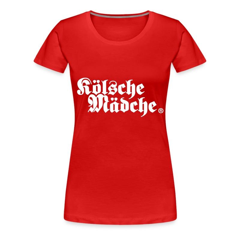 Kölsche Mädche Classic - Frauen Premium T-Shirt