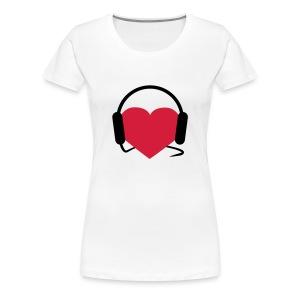 Music in your heart - Women's Premium T-Shirt